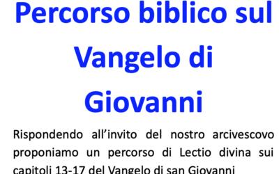 Percorso Biblico Giovani