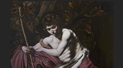 Galleria Certosa In mostra l'opera San Giovanni Battista di Luciano Perfetti
