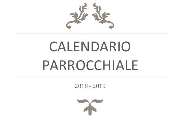 Calendario Parrocchiale 2018-2019