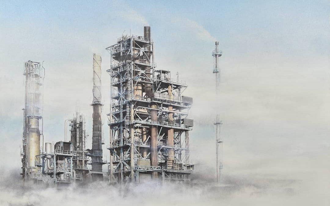 """Valentina Ceci """"Evanescenze Industriali""""  Inaugurazione: 25 sett. ore 16.00"""