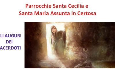 Saluto dei sacerdoti per la Santa Pasqua