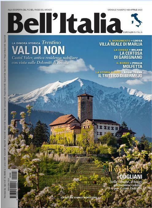 """La Certosa di Milano è stata comunicata sul giornale di """"Bell'Italia"""""""