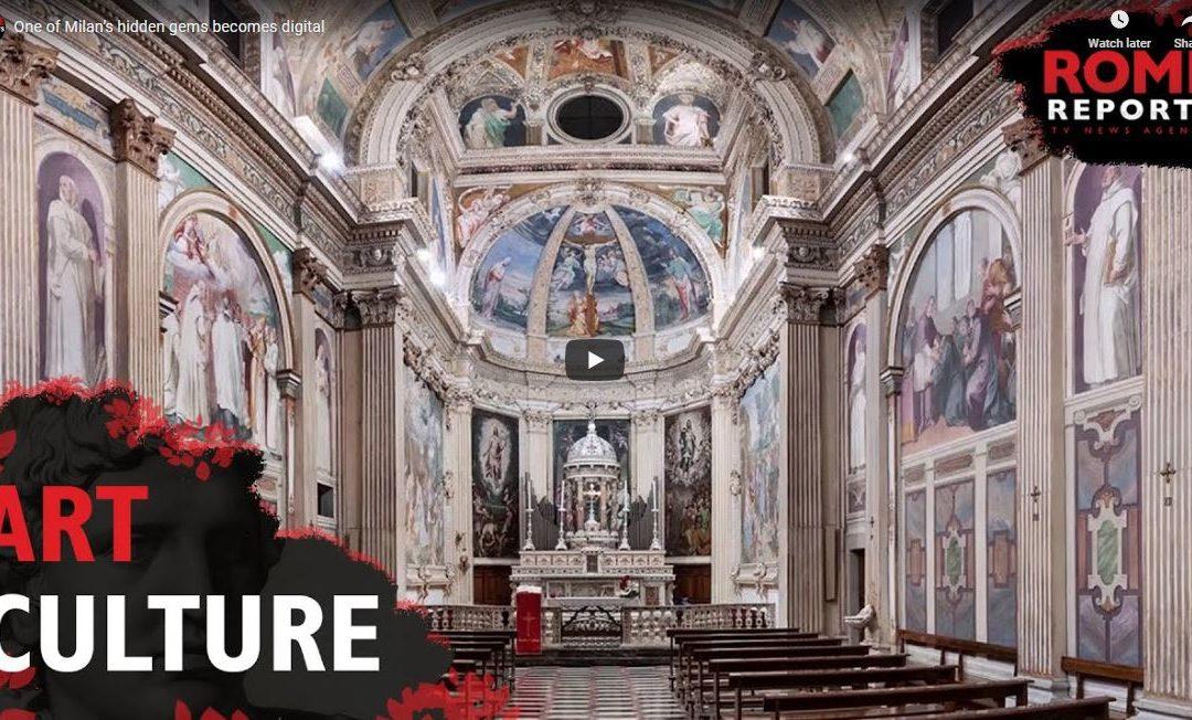 La Certosa di Garegnano è sul giornale Americano