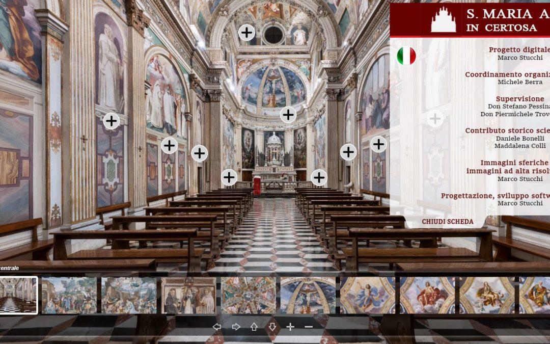 Progetto di Realtà Virtuale con Marco Stucchi, Michele Berra e don Stefano