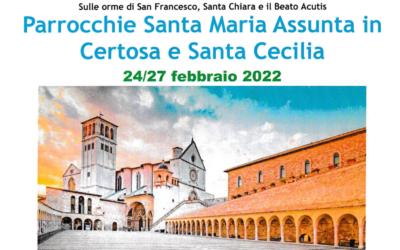 ASSISI-LA VERNA dal 24 al 27 Febbraio 2022