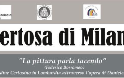"""Daniele Crespi """"La pittura parla tacendo"""" (Federico Borromeo)"""