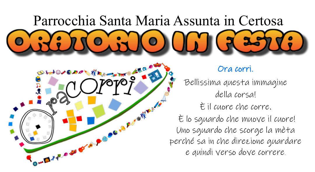 Festa apertura Oratorio 27-28-29 settembre 2019